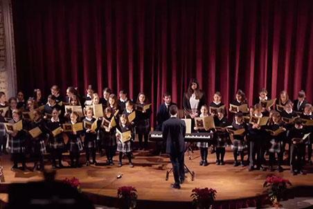 Concierto de Navidad | Escolanía del Colegio CEU San Pablo Sevilla -