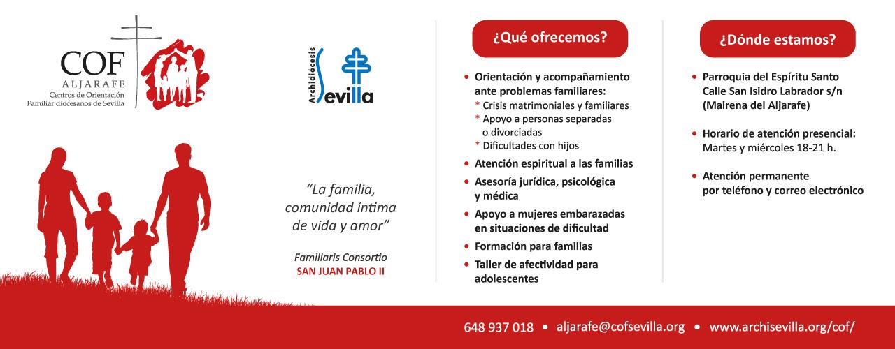 COF Alfarafe - Centros de Orientación Familiar diocesanos de Sevilla